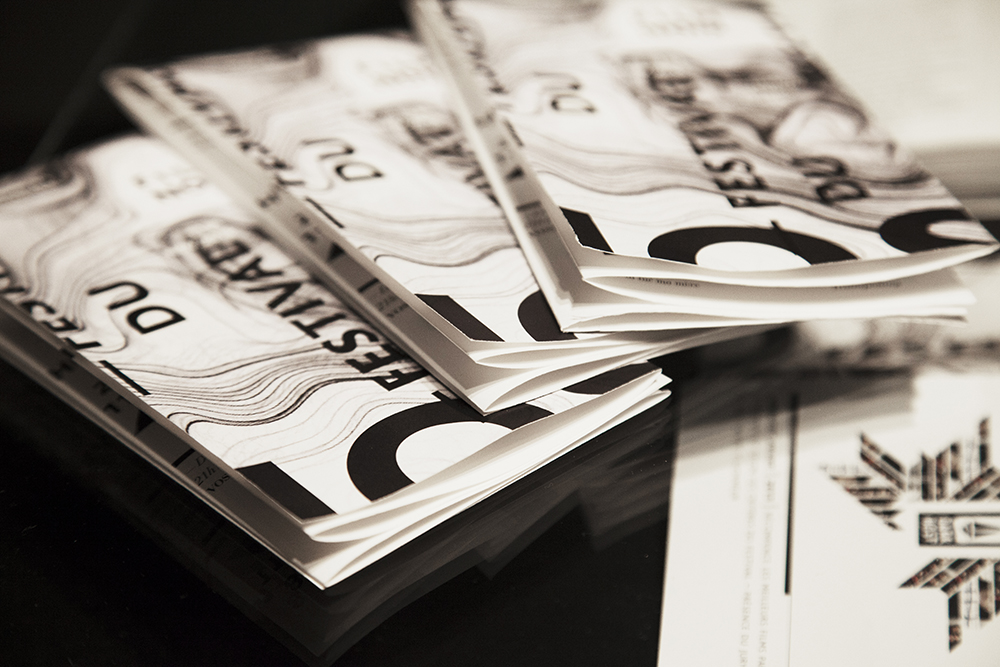 pamphlet du festival (programmation 1mois)